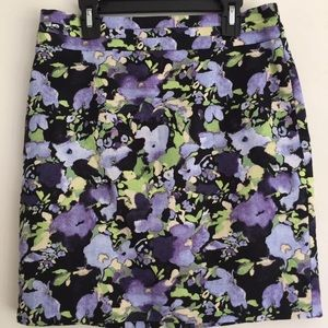 Ann Taylor LOFT Floral Pencil Skirt