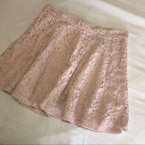 Forever 21 Light Pink Circle Skirt
