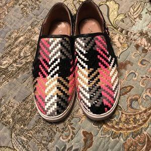 J Slides slip on sneakers