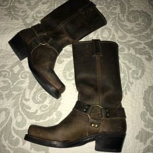 💜Frye Harness Leather Riding Boot,Size-7.5💜