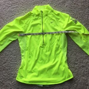 Nike Dri- Fit.  Lime Green Color.  Size S