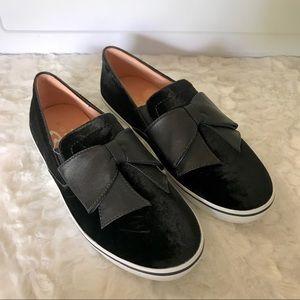 NEW Kate Spade Delise Too Velvet Slip On Sneakers
