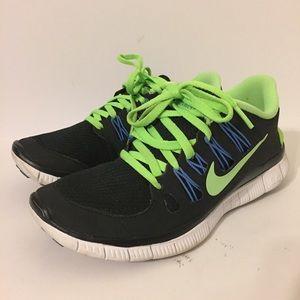 Nike Free 5.0+ Run V4 QS AIR PRM NRG Black Size 5