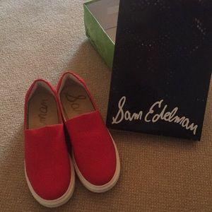 Red Sam Edelman shoes!