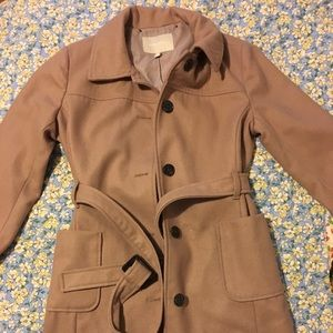 Banana Republic Wool Overcoat