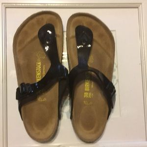 🔥Birkenstock black Sandal size 38