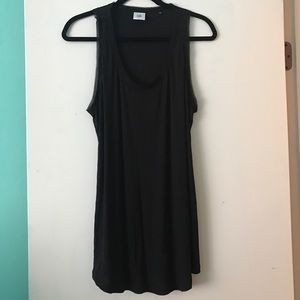 Cabi black sheer sleeveless dressy top