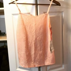 NWT Nude Lace Camisole top Size S