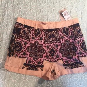 Forever 21 Pink and Purple Short Shorts NWT