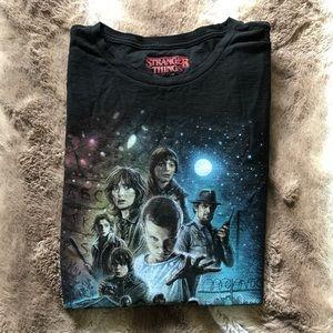 Stranger Things Graphic T-Shirt Netflix