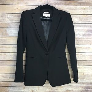 Calvin Klein Black Stretch Blazer
