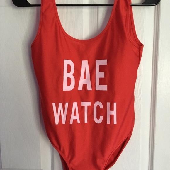 420426de258 🖤BAE WATCH one piece bathing suit. M 5a0f506e291a359adc007f8b