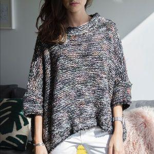 Slouchy Poncho Knit