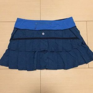 Adorable Lululemon tennis skirt with ruffles