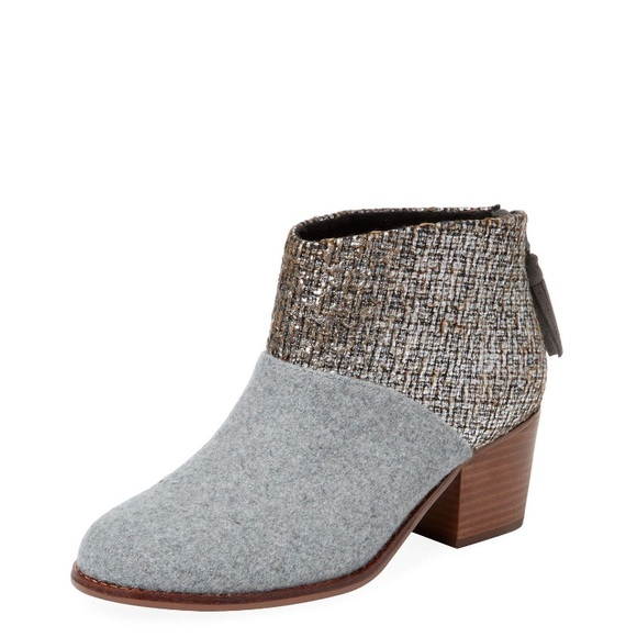 4f170f27cb0c BRAND NEW TOMS suede booties