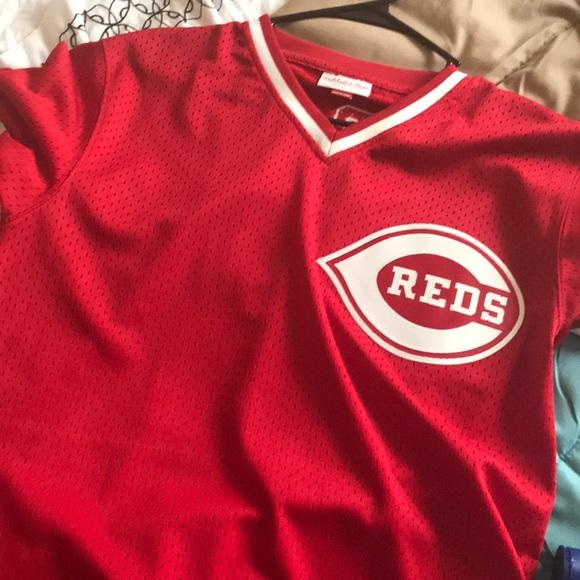outlet store 7b1dd 5e49d Barry Larkin Cincinnati reds Jersey