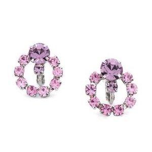 NIB Jewelmint denueve Screw Back Clip on Earrings