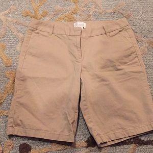 Women's jcrew shorts