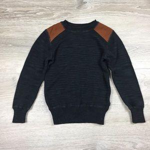 Appaman boys dark grey sweater 6