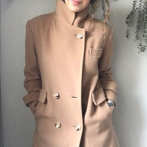 Vintage Wool Full Length Coat