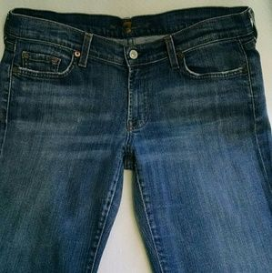 7 For all Mankind Jeans Women Bootcut size 32