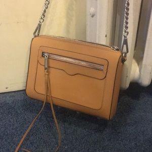 rebecca minkoff tan purse
