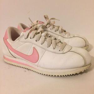 2007 Nike Cortez White Pink 4Y Womens 5.5