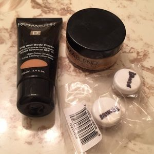 Dermablend Leg and Body Cover and Setting Powder