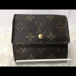 Authentic Louis Vuitton Portefeuille Elise Wallet