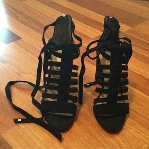 Sam Edelman lace up heels