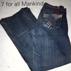 7 for all Mankind distressed dojos- 28 EUC