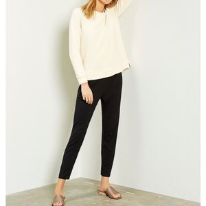 Eileen Fisher Cotton Jersey Ankle Pant