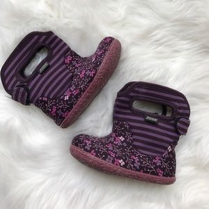Bogs toddler girls winter and rain boots
