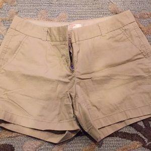 Women's JCrew Factory shorts
