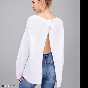 Sweaters - BRAND NEW open back sweater !