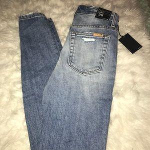 Joe's Jeans high rise skinny jeans 26