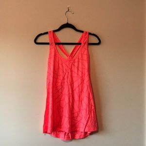Active-wear racerback tank top