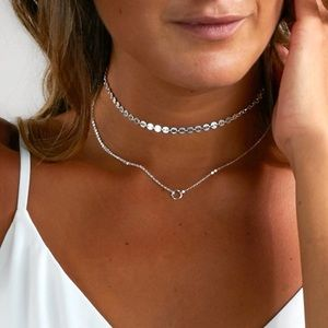 Jewelry - 🎁 Silver Dream Choker Necklace
