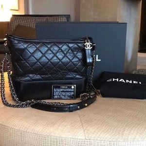 Chanel Gabrielle Black Bag