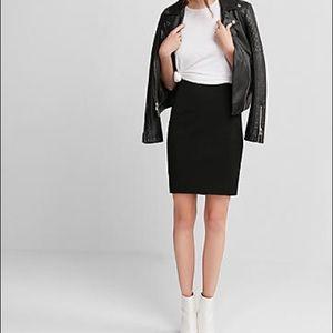 Express pencil skirt, 2 front pockets, detail