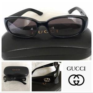 Authentic Gucci sunglasses.