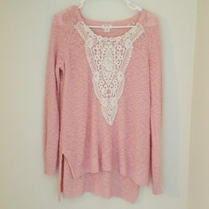 Tops - Pink sweater