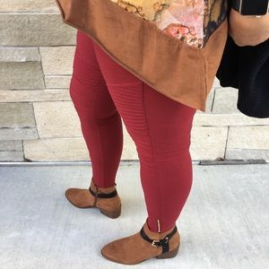 Aluna Levi Pants - Sexy Curvaceous Sized Moto Jeggings