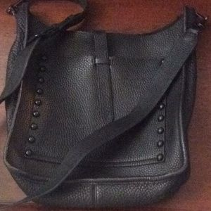 Rebecca Minkoff large Unlined feed bag black