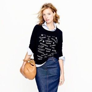 🆕LISTING {J. Crew} Port of Call Sweatshirt