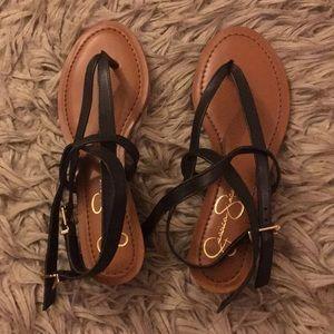 💸 Jessica Simpson Gladiator Sandals Size 6