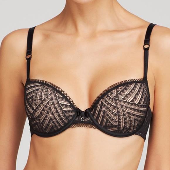 69ddf44486582 Chantelle Intimates & Sleepwear | Tshirt Illusion Demi Underwire Bra ...