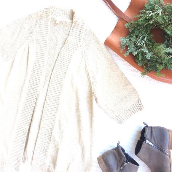 J. Crew Sweaters - {J. Crew} Factory Open Knit Cardigan