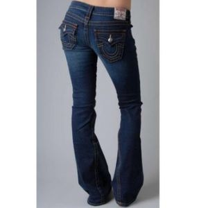 True Religion Joey Jeans Dark Wash