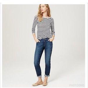 Ann Taylor Loft Relaxed Skinny Jean